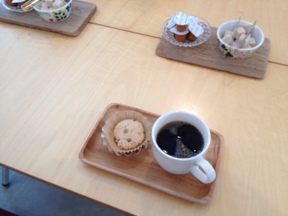 本日の one day cafe。_a0164280_436789.jpg