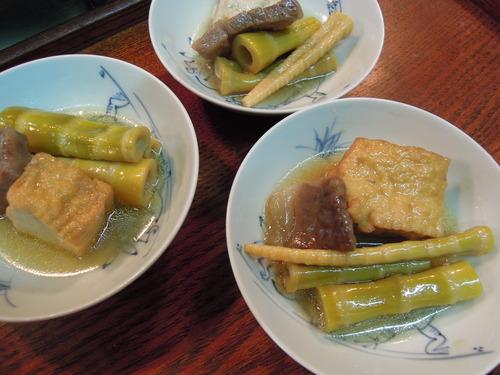 四方竹と牛肉と厚揚げの煮物_e0116211_1071282.jpg