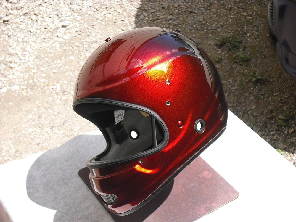 レース物が続くんだが今回はボートレース用ヘルメットだ。_d0130115_18415445.jpg