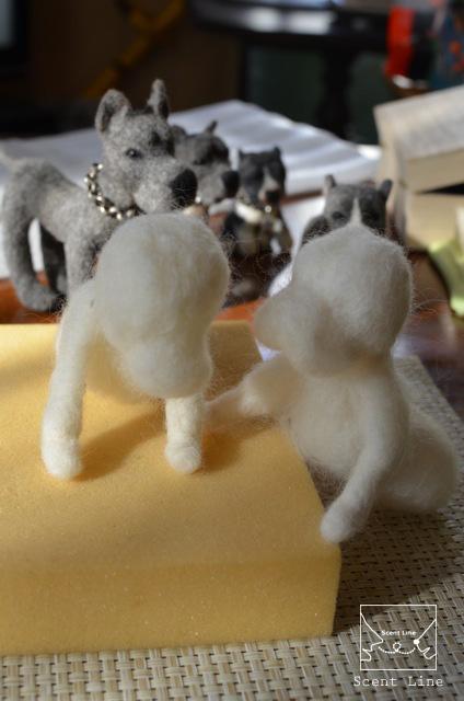 新コラボ企画「犬同伴OK!ニードルフェルトドッグ」教室_c0099133_0193429.jpg