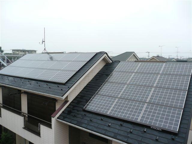 京セラ太陽光発電5.49kwを 3年前に設置したお客様_e0207151_12195474.jpg