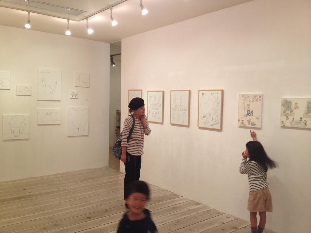 ミヤタチカ個展「ゴーゴーパラダイス劇場」本日最終日です。_b0126653_11375017.jpg