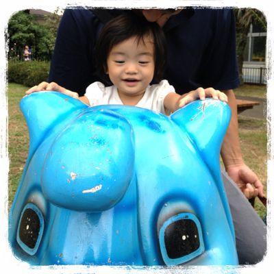 動物園でヨガ!_e0258469_7154125.jpg