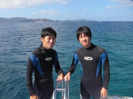 ケラマで体験ダイビング☆_a0156273_1961629.jpg