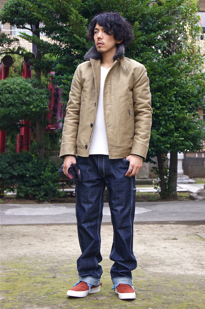 """BLUE BLUE\"" the DECK JACKET!!_f0020773_20454989.jpg"