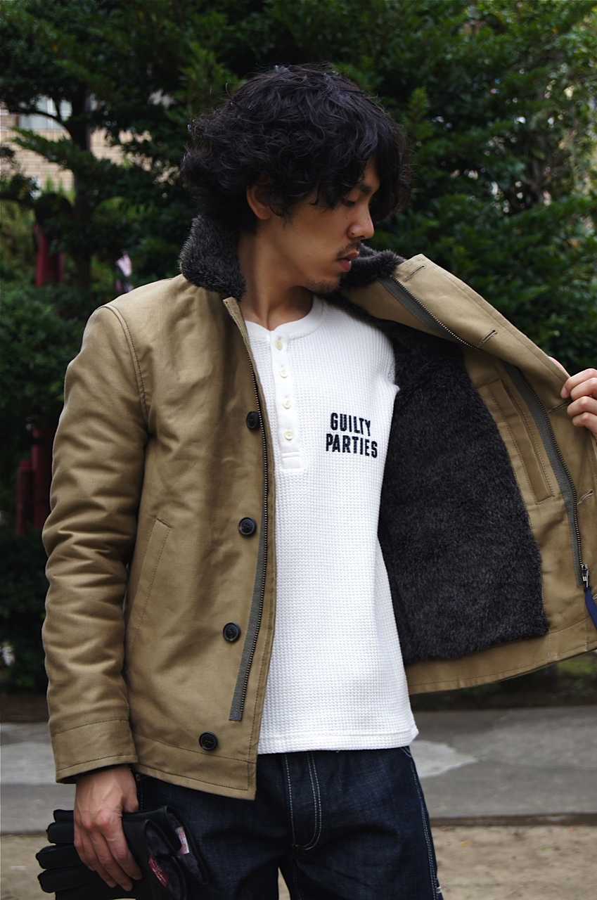 """BLUE BLUE\"" the DECK JACKET!!_f0020773_20471334.jpg"
