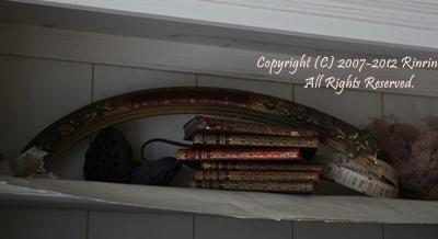 アンティークの装飾木片。_e0237680_15423128.jpg