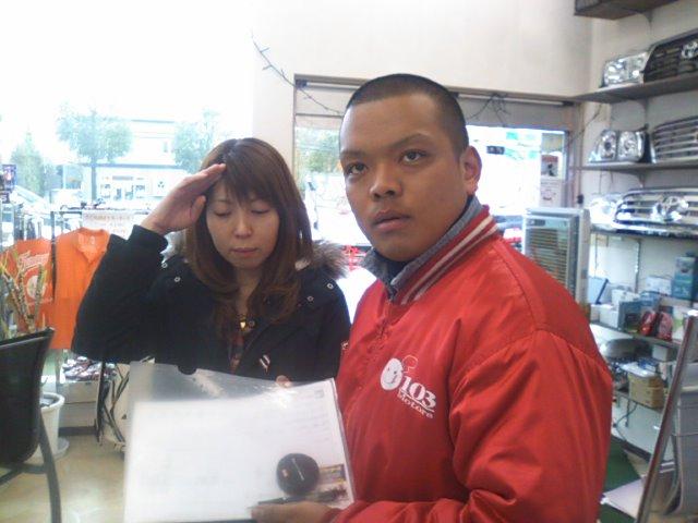 キング&お姉ちゃん 買取に出発_b0127002_1564982.jpg