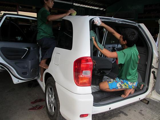 ミャンマー ヤンゴン 中古車 輸出 輸入 トミーモータース ランクル 3 二日目_b0127002_19234477.jpg