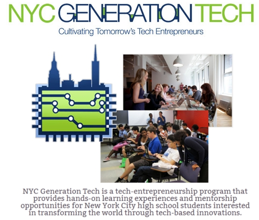 ニューヨークの高校生のためのIT起業家養成プログラム、NYC Generation Tech_b0007805_21334942.jpg