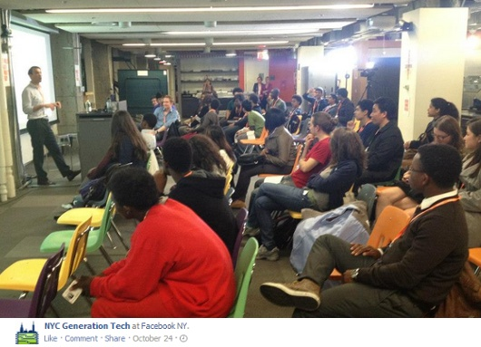 ニューヨークの高校生のためのIT起業家養成プログラム、NYC Generation Tech_b0007805_21341860.jpg