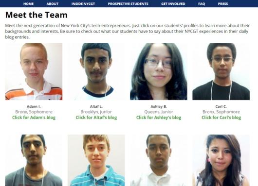 ニューヨークの高校生のためのIT起業家養成プログラム、NYC Generation Tech_b0007805_22225984.jpg