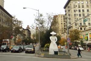 NYブロードウェイの57~157丁目間でパブリック・アート展 Saint Clair Cemin on Broadway_b0007805_2320505.jpg