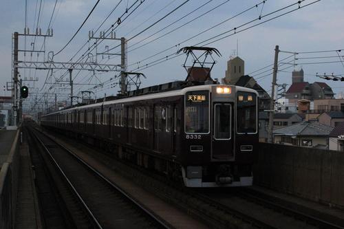 阪急正雀レポート 5010Fなど_d0202264_82239.jpg