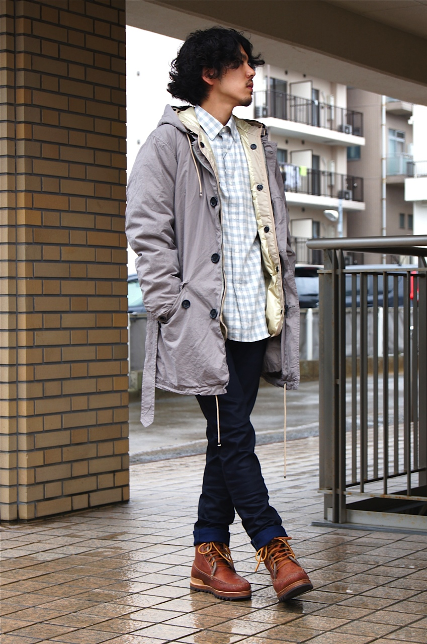 "DOWN COAT style by ""N.HOOLYWOOD\""_f0020773_2111139.jpg"