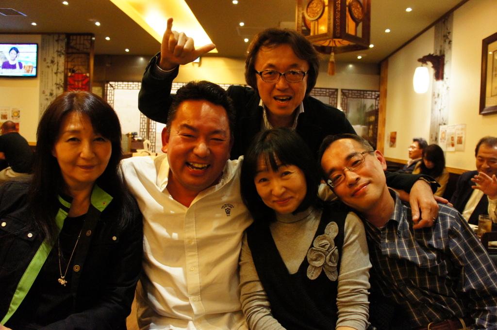 上海蟹@九段中同期会。_c0180686_1918506.jpg