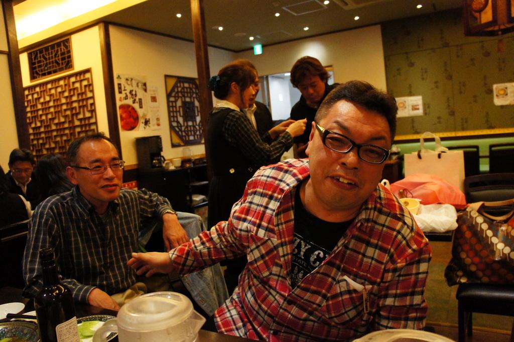 上海蟹@九段中同期会。_c0180686_19534999.jpg