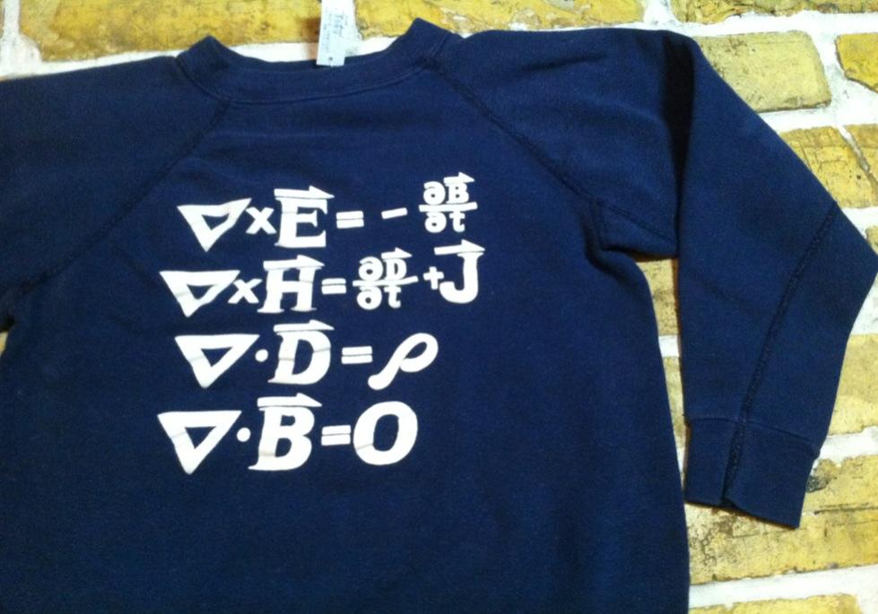 神戸店10/31(水)ヴィンテージ入荷!#3 ヴィンテージスウェット 単タグ 前V(T.W.神戸店)_c0078587_19254461.jpg