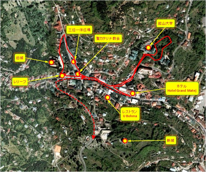 中欧家族旅行2012年08月-第六日目-スロヴァキア・バンスカー・シュチャヴニツァ散策_c0153302_17383059.jpg