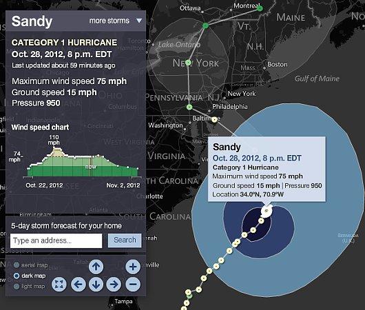 ハリケーンに備えるニューヨーク<10/28、21時更新>_b0007805_1025269.jpg