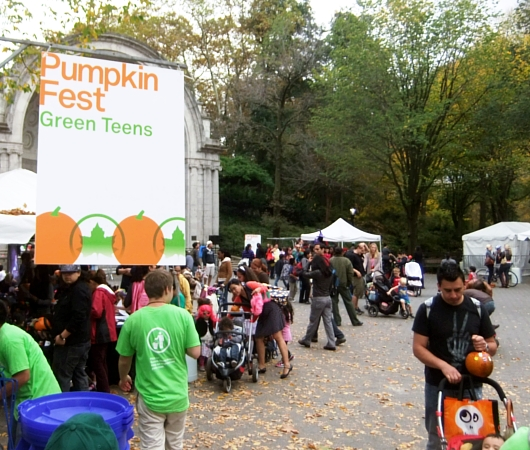 NYのセントラルパークがファンタジー・ワールドに Pumpkin Festival 2012_b0007805_11502093.jpg