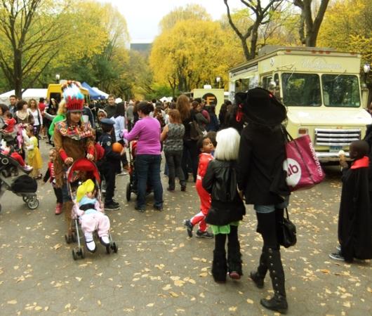 NYのセントラルパークがファンタジー・ワールドに Pumpkin Festival 2012_b0007805_115158.jpg