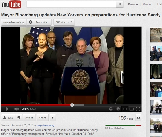 ハリケーンに備えるニューヨーク<10/28、13時更新>_b0007805_1172770.jpg