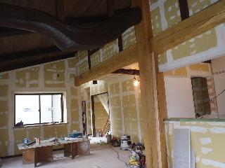 古材新築の現場 進行中です。_f0105112_732523.jpg