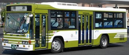広島電鉄のキュービックバス 2題_e0030537_23304082.jpg