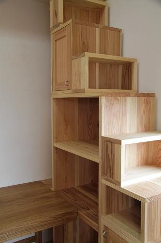 杉の階段ダンス 設置しました_c0240541_1746221.jpg