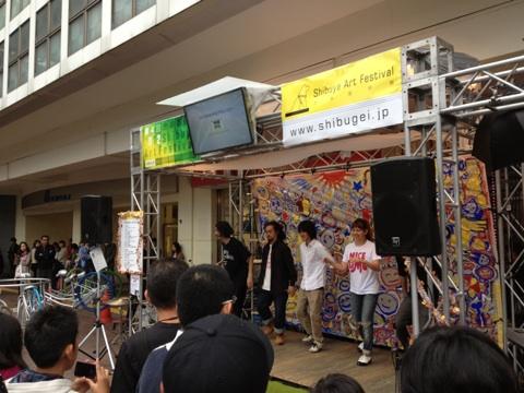 渋谷芸術祭_f0137346_12423232.jpg
