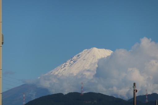 雪の富士山_b0177649_2302296.jpg