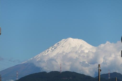 雪の富士山_b0177649_232920.jpg