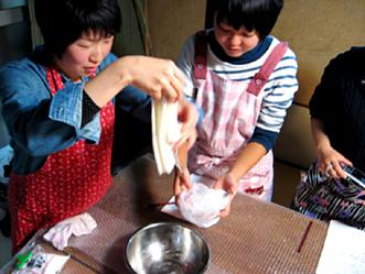 町家で和菓子教室〜秋の上用饅頭作り〜ご報告_b0153663_1603747.jpg