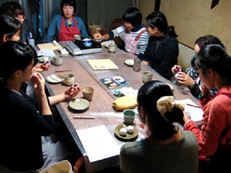 町家で和菓子教室〜秋の上用饅頭作り〜ご報告_b0153663_16432467.jpg