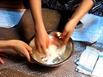 町家で和菓子教室〜秋の上用饅頭作り〜ご報告_b0153663_1655465.jpg