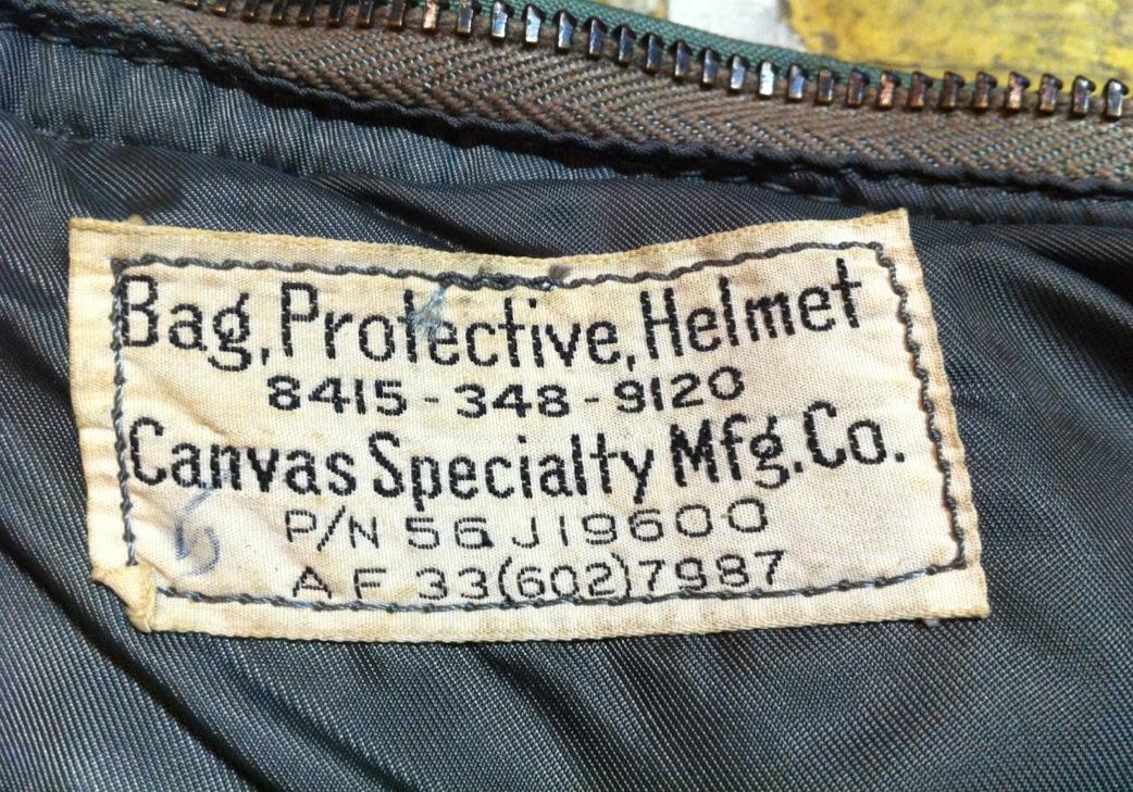神戸店10/31(水)ヴィンテージ入荷!#6 USAFヘルメットバッグ1st 、B-11 (T.W.神戸店)_c0078587_1947412.jpg