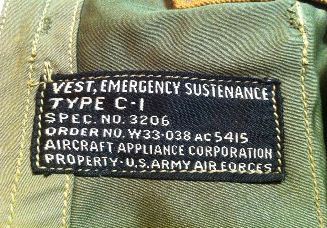 神戸店10/31(水)ヴィンテージ入荷!#6 USAFヘルメットバッグ1st 、B-11 (T.W.神戸店)_c0078587_19491330.jpg