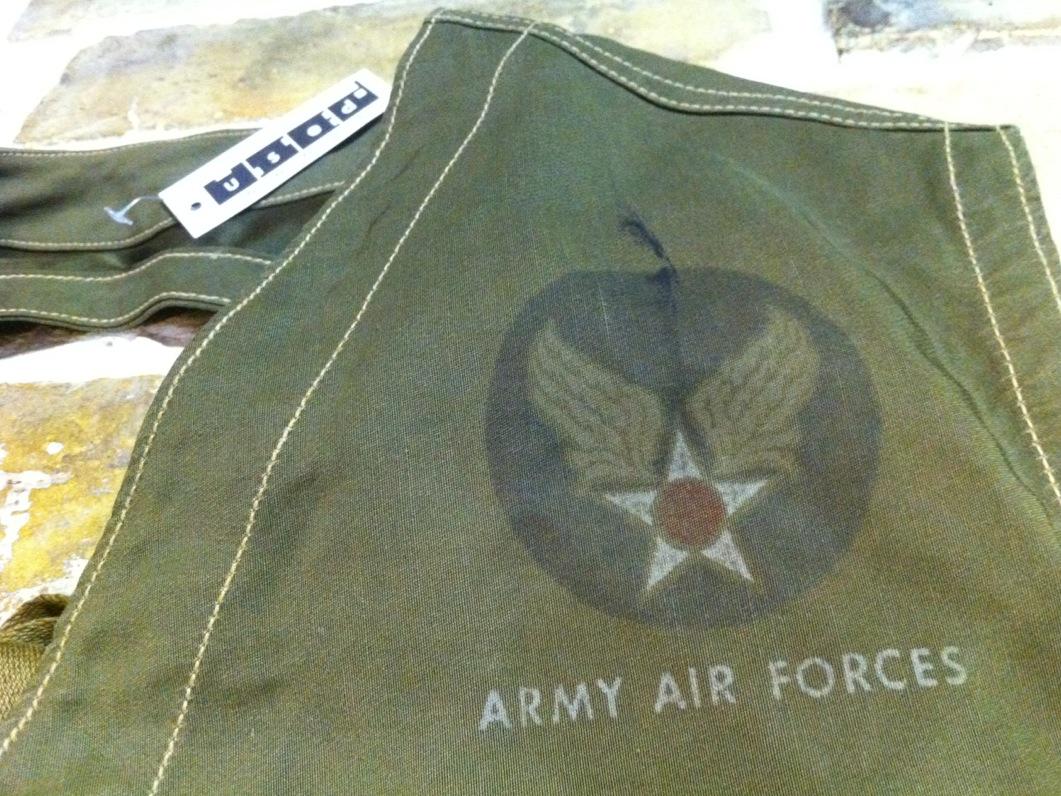 神戸店10/31(水)ヴィンテージ入荷!#6 USAFヘルメットバッグ1st 、B-11 (T.W.神戸店)_c0078587_1949213.jpg