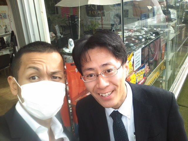 K様、エスティマご成約!!ランクルトミー!!_b0127002_1950533.jpg