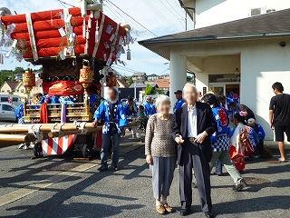 秋祭り<アクティブライフ中町倶楽部>_c0107602_1343472.jpg