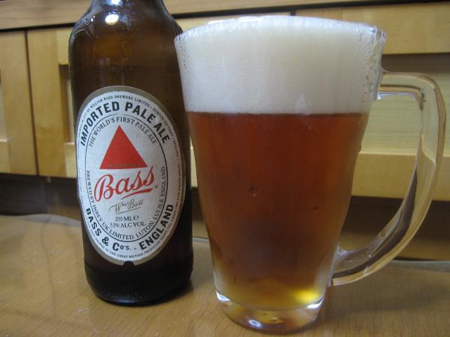 今夜のビールVol.18 バス ペールエール¥238_b0042308_23283791.jpg
