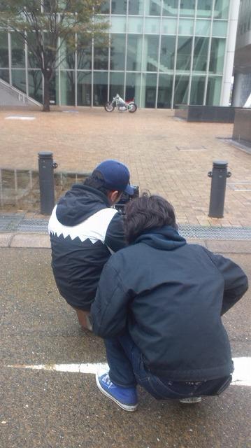 数日前のお話!! 降り始めた雨にはご注意を!!_a0110720_1325116.jpg