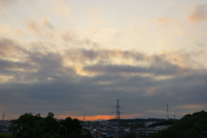 秋寒の日の夕_e0077521_2262295.jpg