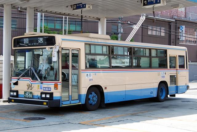 阪急バス~西工58MC(B-Ⅱ)ふそう  2611~_a0164734_227523.jpg