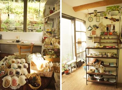 緑の中の雑貨cafe  +Tree B(千葉・市川)+_b0228252_2313814.jpg