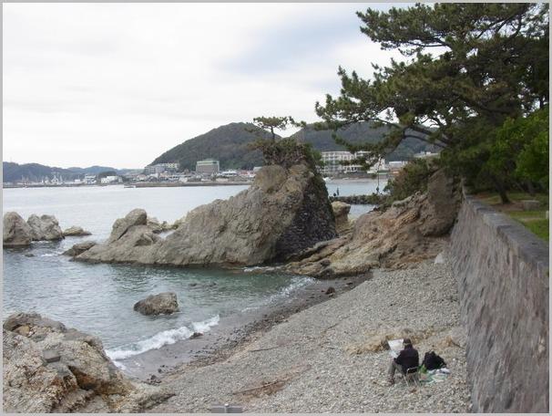 裕次郎に会える海・森戸海岸_a0086270_20503578.jpg