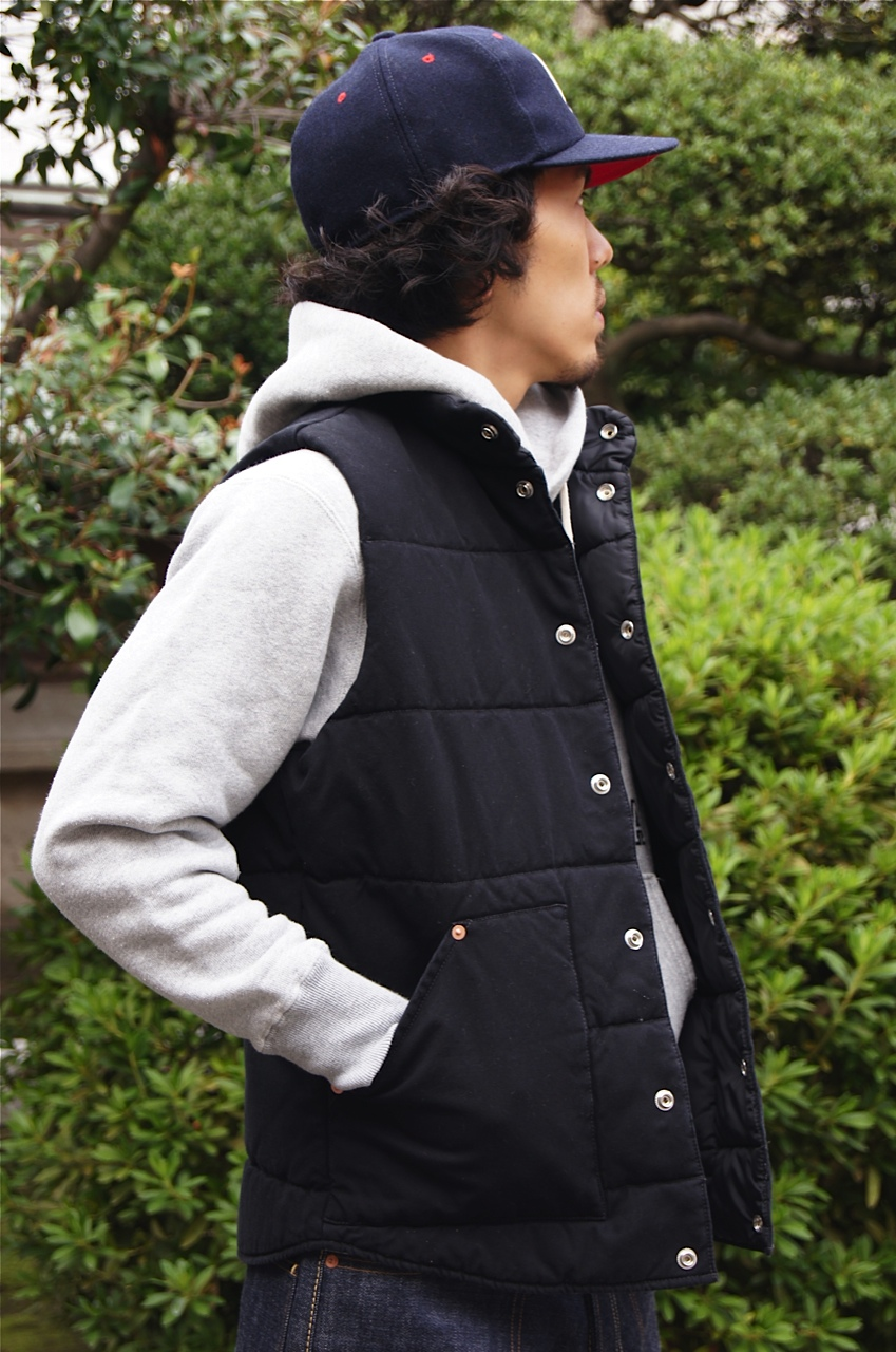 """STANDARD CALIFORNIA\"" CANVAS QUILTED VEST!!_f0020773_2114390.jpg"