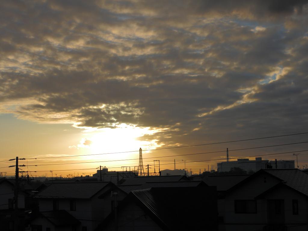 日の出位置 だいぶ南に_a0160581_939822.jpg