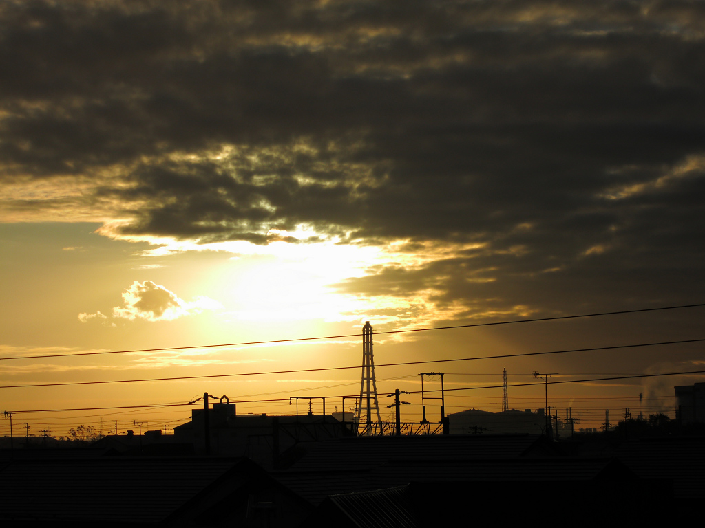 日の出位置 だいぶ南に_a0160581_9414822.jpg